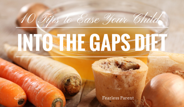 gaps diet for baby introducing food