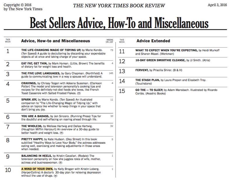 AMOYO NYT Bestseller