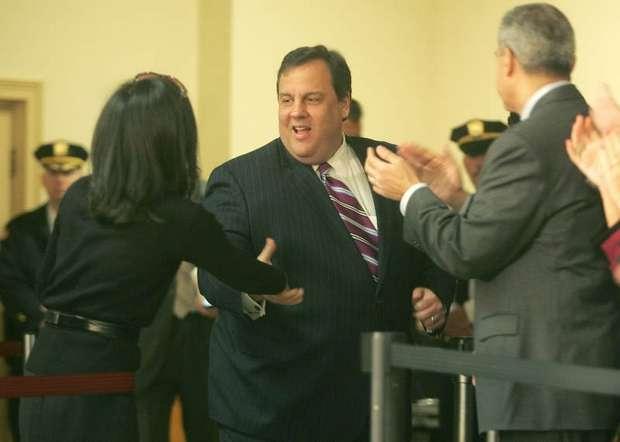 Christie Hand Shake 1-26-11